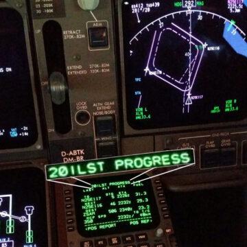 20ILST an Bord einer Boeing 747