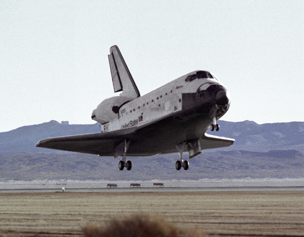 Space Shuttle Landing photo